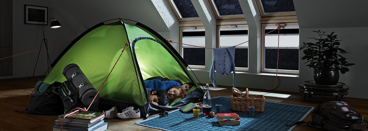 Velux gardiner til barnerommet